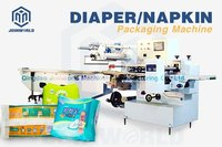 Diaper Sanitary Napkin Flow Packing Machine