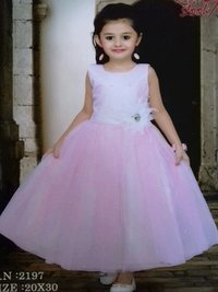 Baby Pink Color Frock
