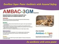 AMBAC-3 GM Veterinary Antibiotic Injections