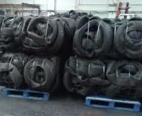 Recycled Rubber Tire Scraps