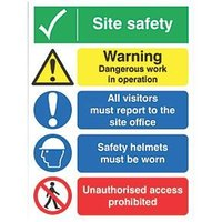 Safety Sign Fibre Boards