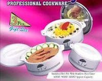 Plastic Insulated Ware Hot Pot With Stainless Steel Liner - Premier
