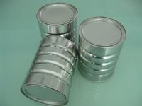 Durable Round Tin Can