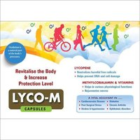 Lyco M Lycopen Mithylcobalamine And Vitamin Capsules