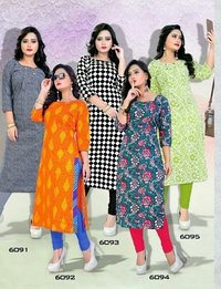 Kavya Cool Vol 5 Cotton Printed Kurtis
