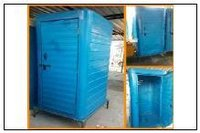 One Side Finished Portable Toilet