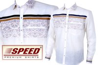 Party Wear Full Sleeve White Shirts