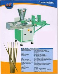Fully Automatic 4G Speed Incense Stick Making Machine