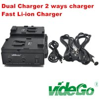 V Mount Dual Li ion Quick Charger