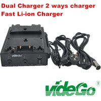 Gold Mount Dual Li ion Quick Charger