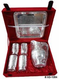 Silver Plated Jug Gift Set