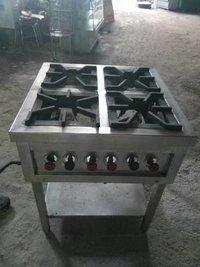 Used Kitchen Four Set Burner Stoves