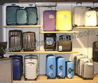 Display Rack For Travel Luggage Bags And Suitcases