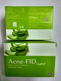 Acnefid Light Triclosan Aloe Vera And Glycerine Soap