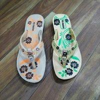 PU Ladies Printed Slippers