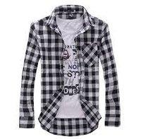 Men's Casual Check Shirts