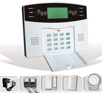 GSM Wireless And Wired Alarm System