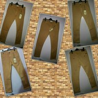 Stretchable Twill Cotton Trousers