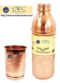Fanta Design Copper Bottles With Lining Design Glass