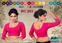 Ladies Dyed Readymade Blouses