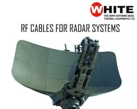 RF Coaxial Cables For Radar Systems