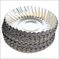 Disposable Silver Paper Snacks Plates