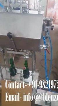 Glass Bottle Soft Drink Filling Machine