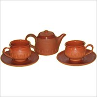 Clay Ceramic Tea Set