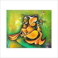 Ganesha Oil Paintings
