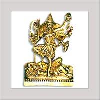 Brass Idol Of Goddess Kali Mata Ji