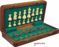 Wooden Magnetic Chess Sets