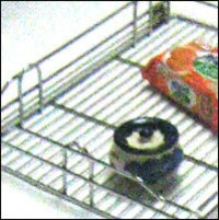 Stainless Steel Wire Kitchen Basket