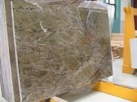FOSSIL GREEN MARBLE SLAB