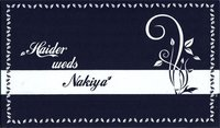 DESIGNER HANDMADE WEDDING CARDS