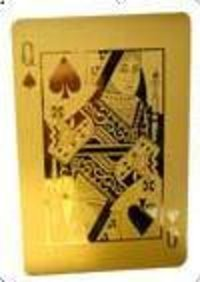 24KT GOLD PLAYING CARDS
