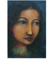 Lady Face Portrait Painting