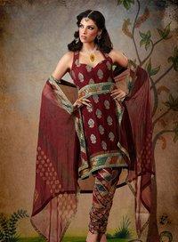 Sleeveless Salwar Suit