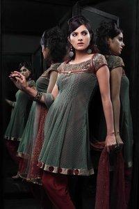 Net Fabric Salwar Suit