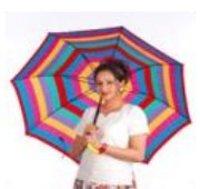 Multi Colour Ladies Umbrella