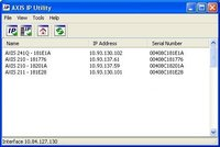 Axis Ip Utility