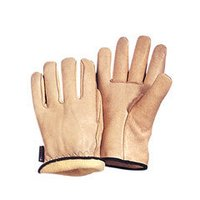 Lined Leather Driving Glove