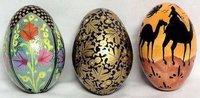 Papier Machie Eggs