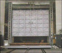 Fired Bogie Hearth Type Stress Relieving Furnace