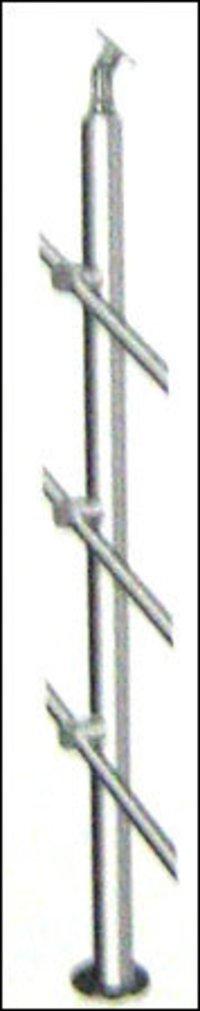 Stainless Steel Thin Pillar Blausters