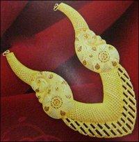 22 K Gold Calcutta Necklace