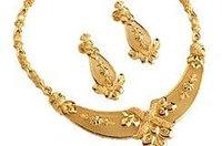 Gold Bridal Haar Set
