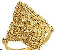 Antique Ladies Gold Rings