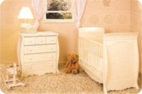 Baby Cot And Nursery Set