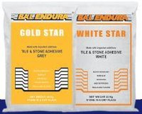 Gold And White Star Adhesive