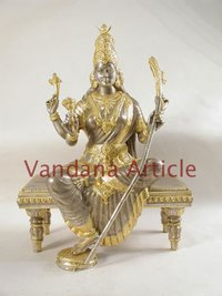 Laxmi Ji Silver Statue